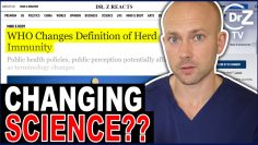 Doctor Reacts- WHO Changes Definition of Herd Immunity