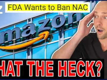 The FDA Wants To Ban Vital Nutrition Product NAC
