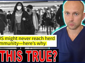 The US Might Never Reach Herd Immunity?