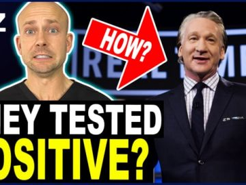 Bill Maher Gets Covid Despite Being Vaccinated