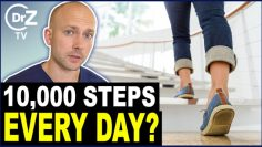 New Study: A 30 Minute Walk A Day Is Nonsense? – Doctor Reacts